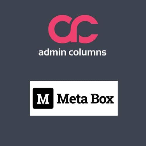 Admin Columns Pro Meta