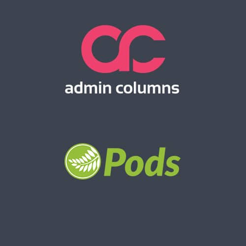 Admin Columns Pro Pods