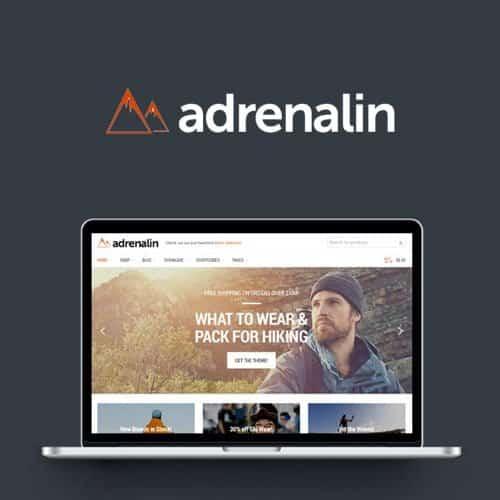 Adrenalin – Multi Purpose WooCommerce Theme