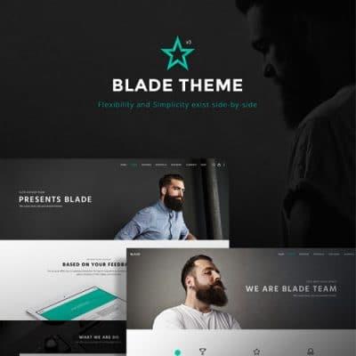 Blade – Responsive Multi Functional Theme