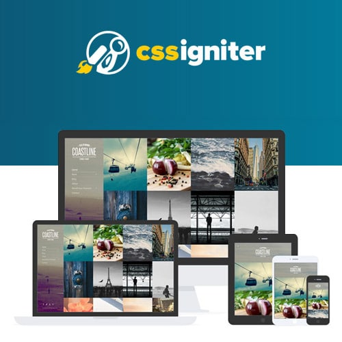 CSS Igniter Coastline WordPress Theme