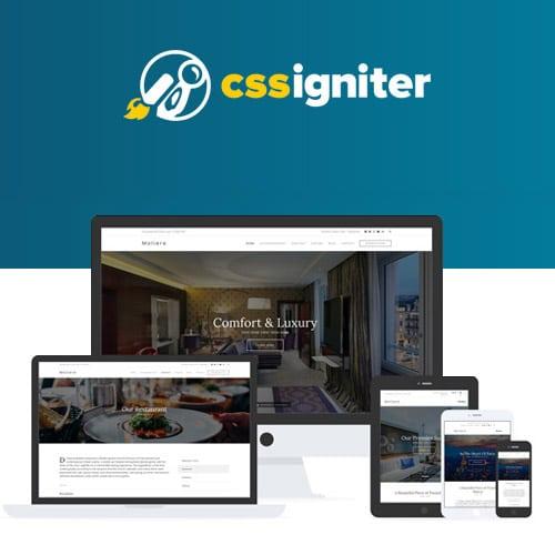 CSS Igniter Moliere WordPress Theme