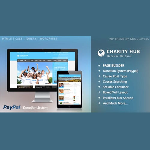 Charity Hub – Nonprofit Fundraising WordPress