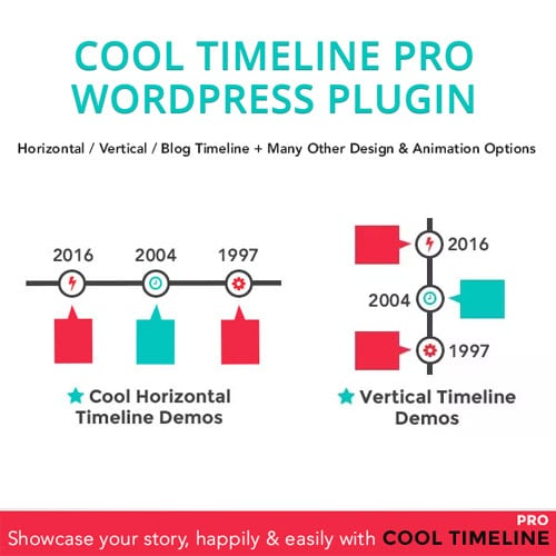 Cool Timeline Pro WordPress Timeline Plugin