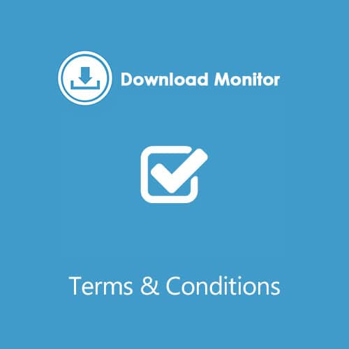 Download Monitor Terms Conditions