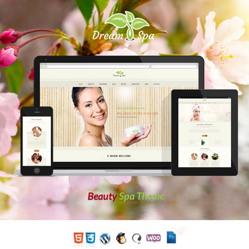 Dream Spa Salon Spa WordPress Theme