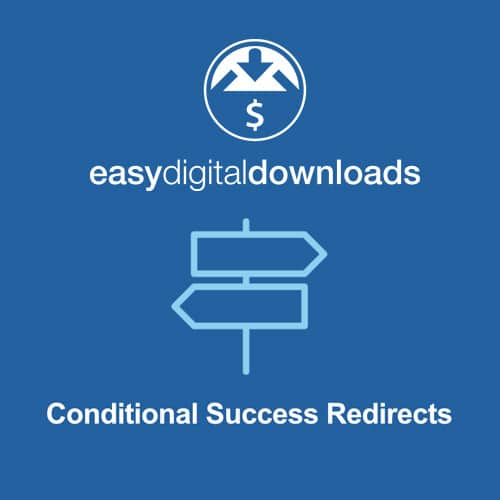 Easy Digital Downloads Conditional Success Redirects