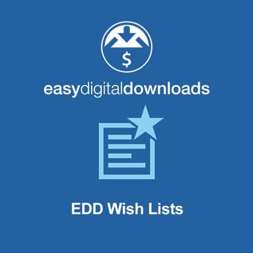 Easy Digital Downloads Wish Lists
