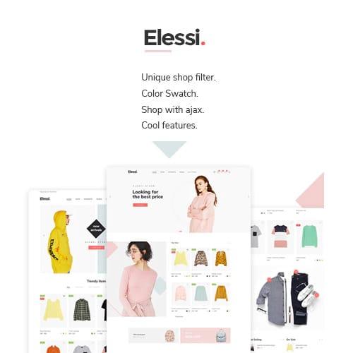 Elessi WooCommerce AJAX WordPress Theme RTL support