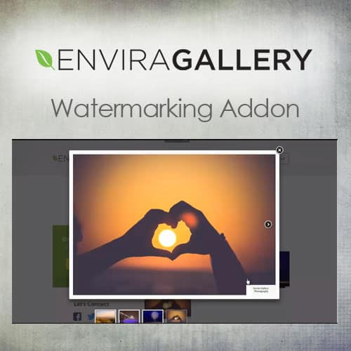 Envira Gallery – Watermarking Addon