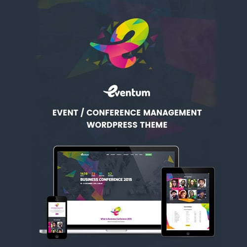 Eventum Conference Event WordPress Theme