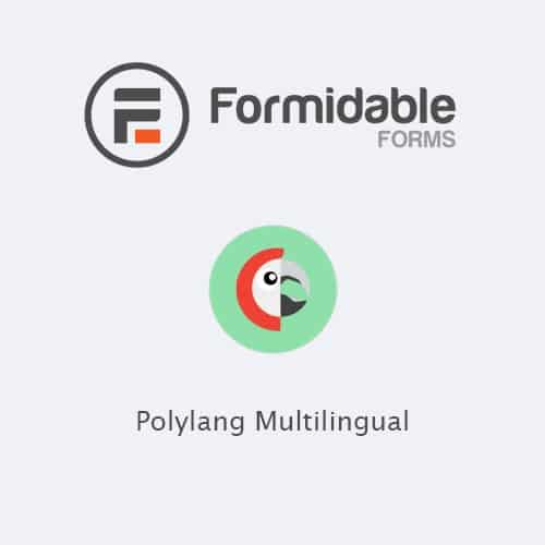 Formidable Forms Polylang Multilingual