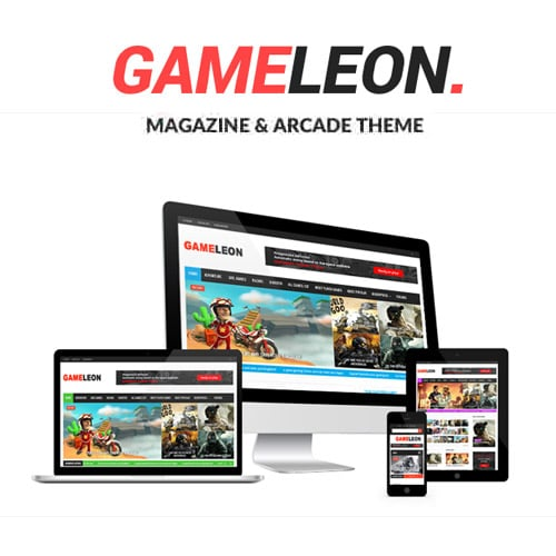 Gameleon WordPress Arcade Theme News Magazine