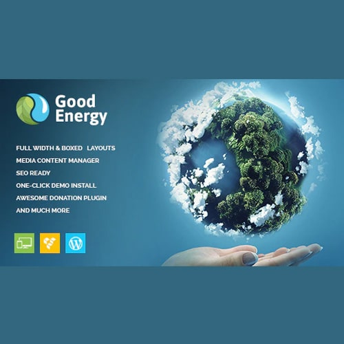 Good Energy Ecology Renewable Power Company WordPress Theme