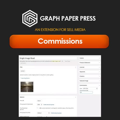 Graph Paper Press Sell Media Commissions