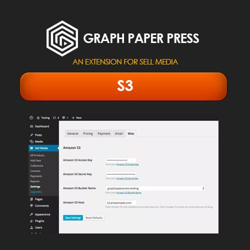 Graph Paper Press Sell Media S3