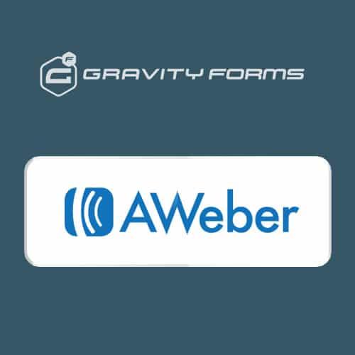 Gravity Forms AWeber Addon