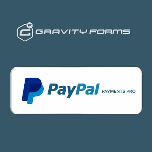 Gravity Forms Paypal Payments Pro Addon