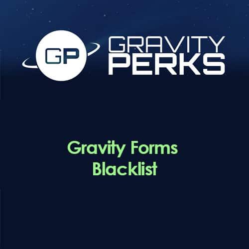 Gravity Perks – Gravity Forms Blacklist
