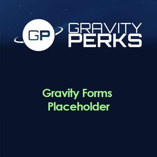 Gravity Perks – Gravity Forms Placeholder