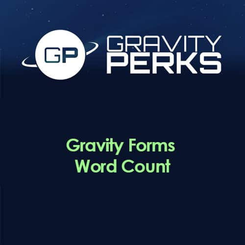 Gravity Perks – Gravity Forms Word Count