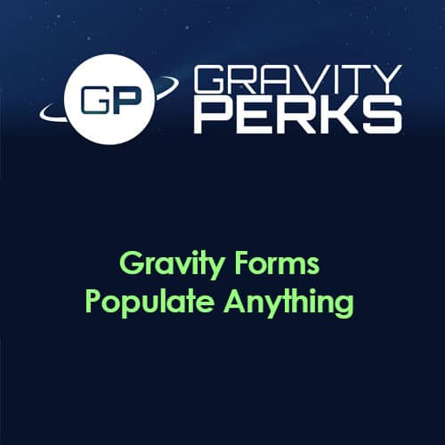 Gravity Perks Gravity Forms Populate Anything