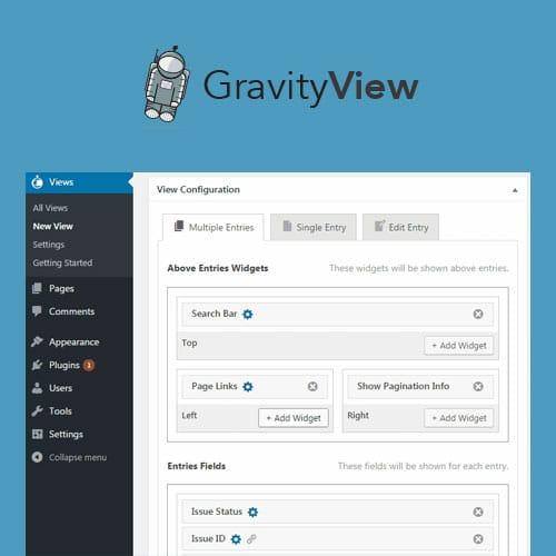 Gravity View WordPress Plugin