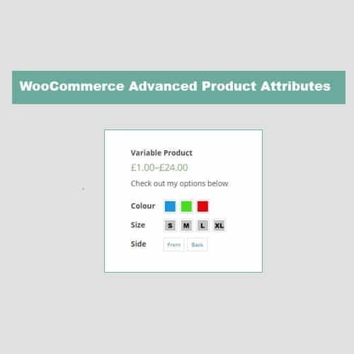 JC WooCommerce Advanced Attributes