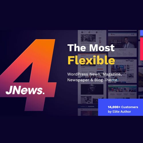 JNews WordPress Newspaper Magazine Blog AMP Theme