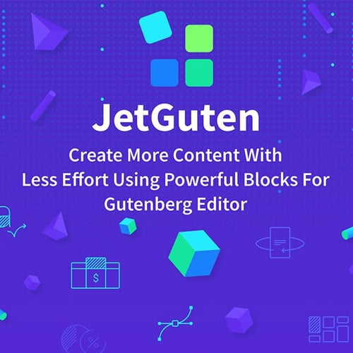 JetGuten Blocks Set Addon for Gutenberg Editor