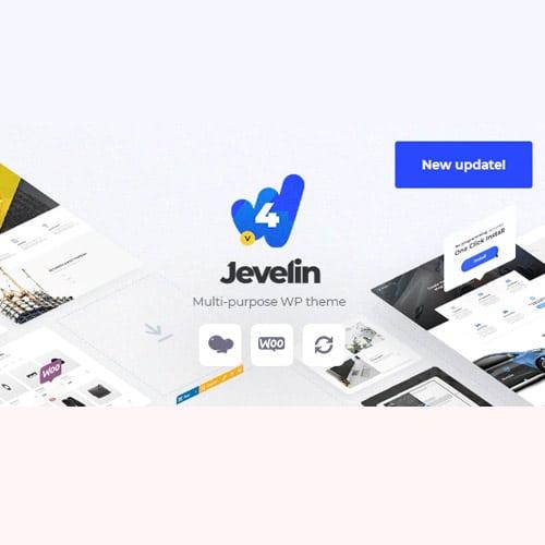 Jevelin Multi Purpose Responsive WordPress AMP Theme