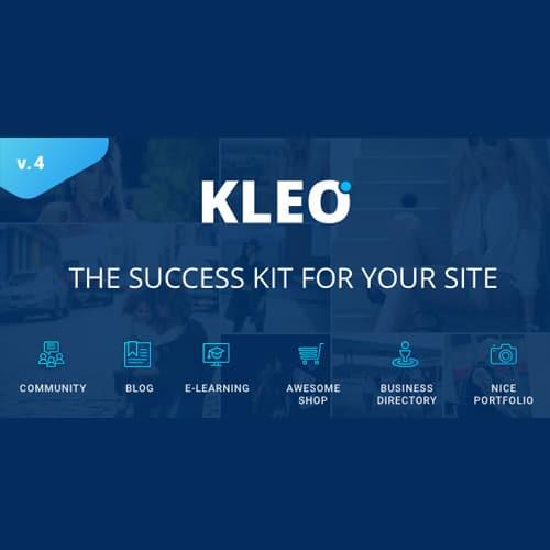 KLEO Pro Community Focused Multi Purpose BuddyPress Theme