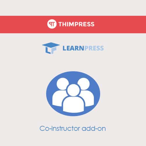 LearnPress – Co Instructors