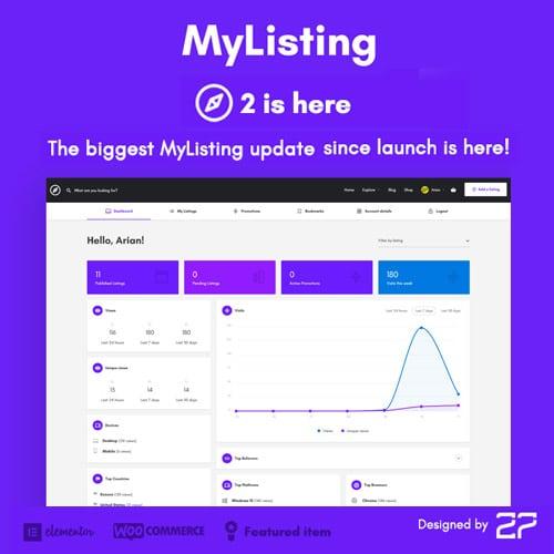 MyListing Directory Listing WordPress Theme