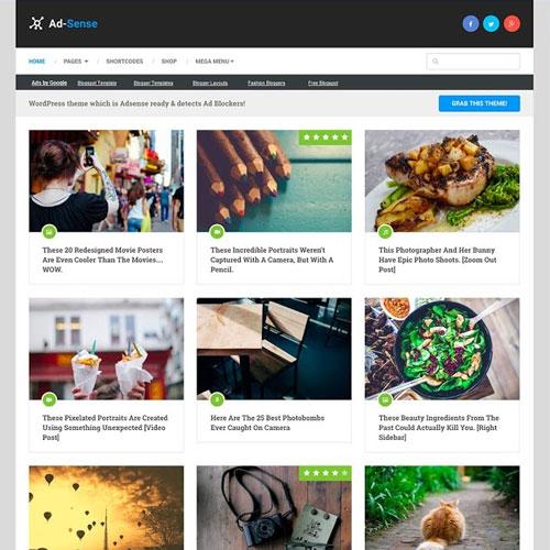 MyThemeShop Ad Sense WordPress Theme