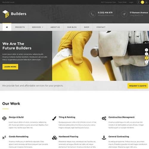 MyThemeShop Builders WordPress Theme