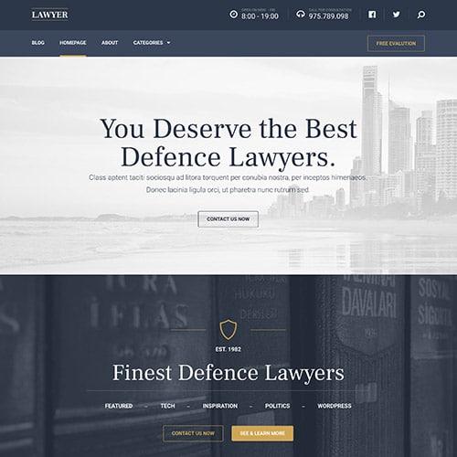 MyThemeShop Lawyer WordPress Theme