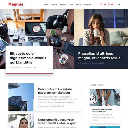 MyThemeShop Magnus WordPress Theme