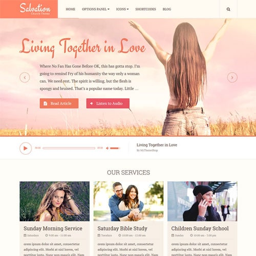 MyThemeShop Salvation WordPress Theme