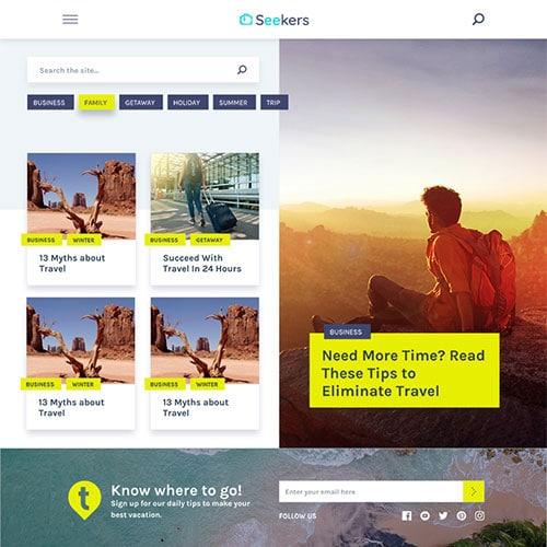 MyThemeShop Seekers WordPress Theme