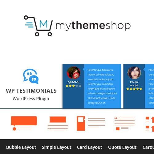 MyThemeShop WP Testimonials