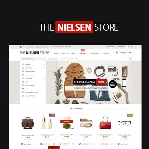 Nielsen – E commerce WordPress Theme