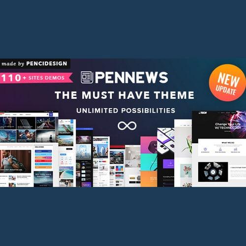 PenNews News Magazine Business Portfolio WordPress Theme