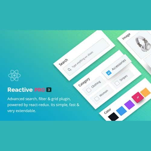 Reactive Pro – Advanced WordPress Search Filter Map Grid