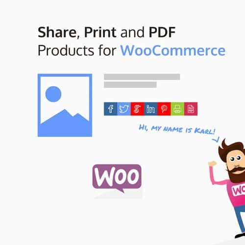 Share Print and PDF Products for WooCommerce