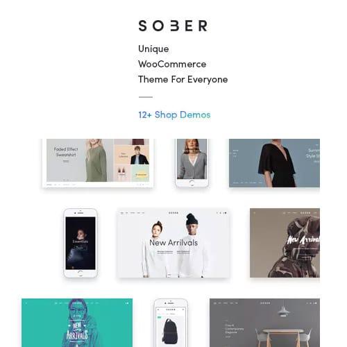 Sober – WooCommerce WordPress Theme