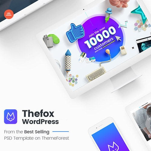 TheFox Responsive Multi Purpose WordPress Theme