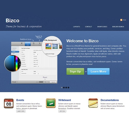 Themify Bizco WordPress Theme
