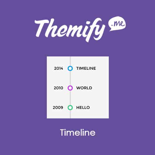 Themify Builder Timeline