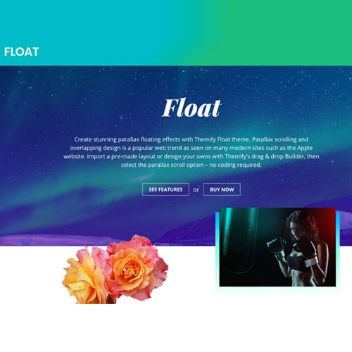 Themify Float WordPress Theme
